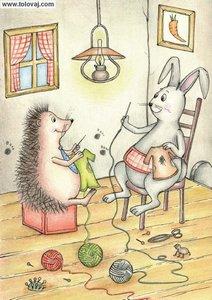 jezek spikec in mama zajklja