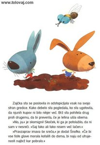 knjigica zajcki