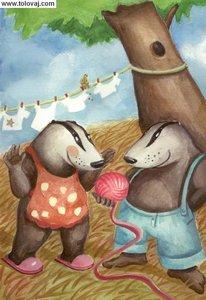 zgodbica o jazbecu