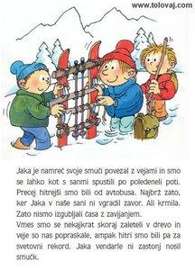 sanke za otroke