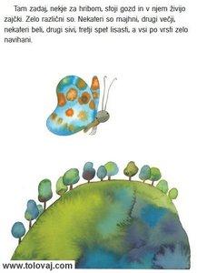 knjigica za majhne otroke