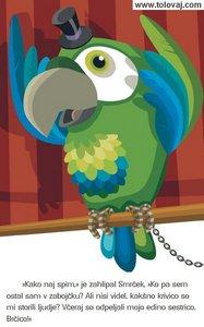 papagaj bo pomagal